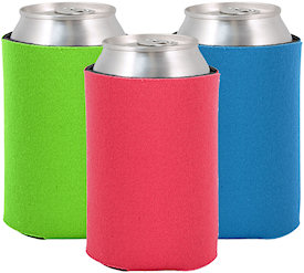 Blank Sewn Collapsible Can Coolers Custom Koozies Cheap